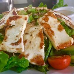 Blue Spice Restaurant Haloumi Salad