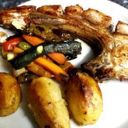 Blue Spice Restaurant Pork Chop