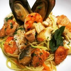 Blue Spice Restaurant Spaghetti Marinara