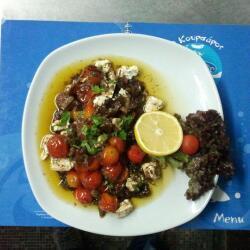 Koursaros Fishtavern Hot Tomatoes With Feta