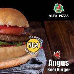 Angus Beef Burger By Alfa Pizza
