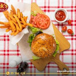 Jacks Pizza Vegie Burger