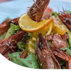 Salut Bar And Grill King Prawns Salad