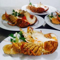 Aeyialos Seafood Restaurant Cypriot Crayfish