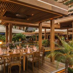 Tropical Restaurant At Four Season In Limassol
