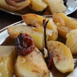 Pyrkos Tavern Oven Potatoes