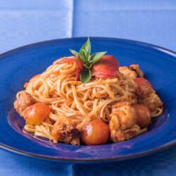 Psarolimano Fish Tavern Seafood Pasta