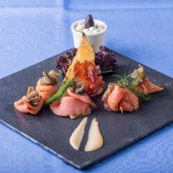 Psarolimano Fish Tavern Smoked Salmon