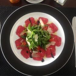 Andria Restaurant Beef Carbachio