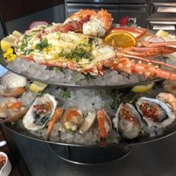 Andria Restaurant Cold Seafood Tower