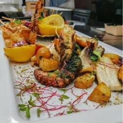 Andria Restaurant Mix Seafood Platter