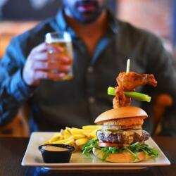 Tgi Fridays Cyprus Buffalo Burger